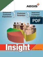 Aegis Insight Newsletter Vol. 4 - Enhanced customer experience, customer retention, improved customer lifetime value