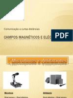 Campos Magnéticos e Campos Eléctricos
