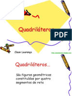 Quadriláteros - 8° ano