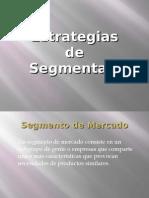 Estrategias de Segmentación de Mercados