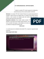 Montar Servidor FTP en Ubuntu