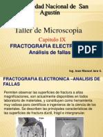 Presentación FRACTOGRAFIA ELECTRONICA