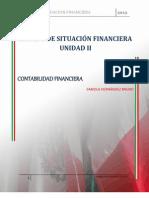 Unidad II Estado de Situacion Financiera Fabiola