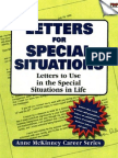 Letters Special