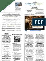 WHSG News Sheet 11.11.2012