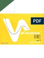 Parts Catalog Honda GL series (Astra-Honda)