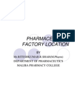Pharmaceutical Factory Loction