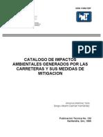 Catalago de Evaluacion de Impactos