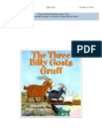 shared reading lesson plan - the three billy goats gruff