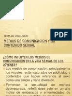 MEDIOS DE COMUNICACIÓN Y SU CONTENIDO SEXUAL