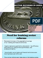 Banking Sector Reforms 123