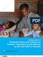 Assessment of Protection Risks and Failures for Children Vulnerable to and Affected by HIV and AIDS in Pakistan