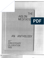 Aiglon Meditations part 1   1989 blue book