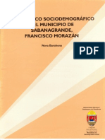 Diagnóstico Sociodemográfico del Municipio de Sabanagrande, Francisco Morazán, Honduras