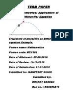Maths Tm Paper