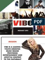 2013 VIBE Media Kit