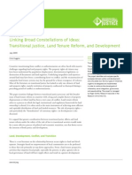Transitional Justice and Land Tenure