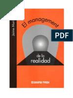 El Management de La Realidad