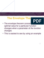 Envelope Theorem