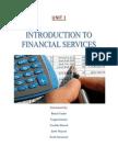 UNIT 1 Financial Services