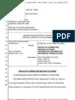 SEC v Gold Standard Doc 40 Filed 09 Nov 12