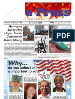 Upper Bucks Free Press • November 2012