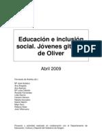 Educación e inclusión social jóvenes gitanos de Oliver