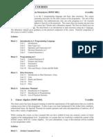 Courses of MSc(MACS) Programme (1)