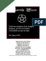 Iniciarse en Wicca