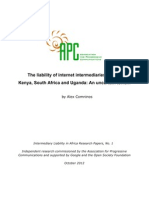 Intermediary Liability in Africa FINAL