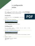 Instalación y configuración de dansguardian