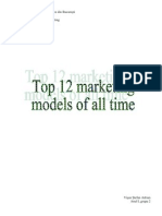 Top 12 Marketing Models of All Time