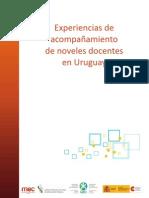 Experiencia de acompañamiento a docentes noveles Uruguay