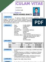 Nazeer Ahmed Bhatti