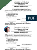 Citacion- Santarosa Noviembre