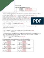 AP Summer Assignment 2012 #1 Answer Key