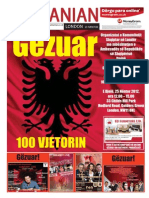 "The Albanian London ""100 years independence"" November 2012"