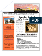 Newsletter of Ione Community Church - November 2012