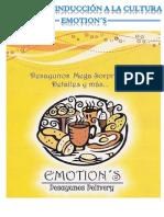 Manual de Inducción a la Cultura Emotion's