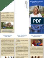 Annual Fund Campaign Brochure