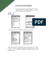 Estudio de Vigas Con La Calculadora ClassPad 300PLUS