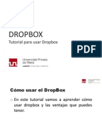 Aprende a Usar Dropbox Actualizado