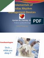 Cardiac Rhythm Management Devices