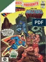 He - Man vs Superman
