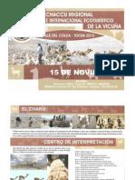 X Chaccu Regional e Internacional Ecoturistico de la Vicuña