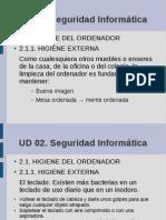 Higiene informática Informática 4º ESO