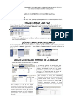Formato manual en OpenOffice.org Calc