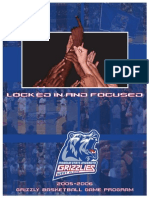 2005-2006 Grizzly Basketball Media Guide