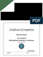 information assurance awarness