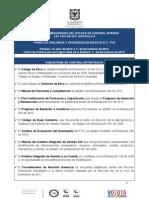 629-1. Informe Pormenorizado Del Estado Del Control Interno LEY 1474